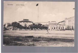 TANZANIA Zanzibar Sultan's Palace 1925 Old Postcard - Tanzania