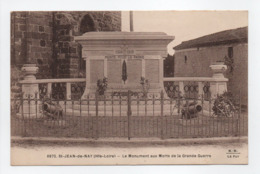 - CPA SAINT-JEAN-DE-NAY (43) - Le Monument Aux Morts De La Grande Guerre - Editions Margerit-Brémond 6872 - - Other Municipalities