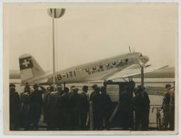 (Aviation) Avion Douglas DC2 De La Swiss Air Lines . Le Bourget 1935 . - Aviation