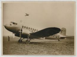 """Avion Bréguet 470 """"Fulgur"""" . Course Paris-Saïgon-Paris . 1936 . Prototype Abandonné Offert Aux Républicains Espagnols . - Aviation"""