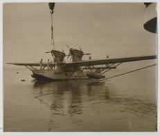 """(Aviation) Hydravion Transatlantique Loire 102 """"Bretagne"""" . Projet Abandonné . 1936 . - Aviation"""