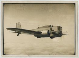 (Aviation) Bombardier Bréguet 460 En Vol . 1935 . Prototype Abandonné Cédé Aux Républicains Espagnols . - Aviation