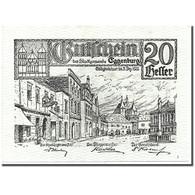 Billet, Autriche, Eggenburg, 20 Heller, Ville, 1920, 1920-12-31, SPL, Mehl:162a - Austria