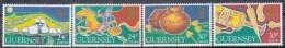 EUROPA - CEPT - Michel - 1994 - GUERNSEY - Nr 635/38 - MNH** - Europa-CEPT