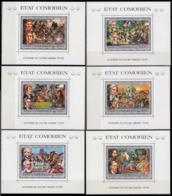 1976Comoro Islands257/B12-262/B17200 Years Of Independence For America 50,00 € - Komoren (1975-...)
