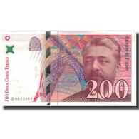 France, 200 Francs, Eiffel, 1997, SPL+, Fayette:75.4b, KM:159b - 1992-2000 Ultima Gama