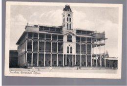 TANZANIA Zanzibar Government Offices 1914 Old Postcard - Tanzania