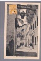 TANZANIA Zanzibar Main Street 1933 Old Postcard - Tanzania