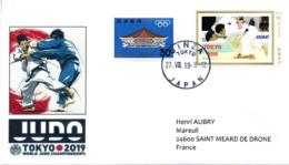JUDO Lettre Championnats Du Monde 2019 - Judo