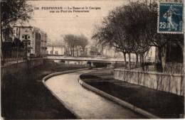 FR66 PERPIGNAN - Dames De France 130 - La Basse Et Le Canigou Vus Du Pont Du Palmarium - Belle - Perpignan