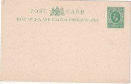 EAST AFRICA AND UGANDA PROTECTORATES    ENTIER POSTAL/GANZSACHE/POSTAL STATIONERY CARTE - Protectorados De África Oriental Y Uganda