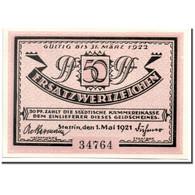 Billet, Allemagne, Stettin, 50 Pfennig, Port, 1921, 1921-05-01, SPL, Mehl:1270.1 - Andere