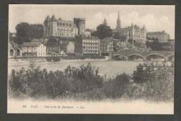 Carte Postale. Pau. Vue Prise De Jurançon. Rivière. Pont. Immeubles. Eglise. Constructions. - Bruggen