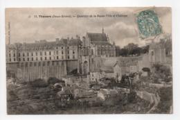 - CPA THOUARS (79) - Quartier De La Basse-Ville Et Château - Edition Pimbert N° 11 - - Thouars