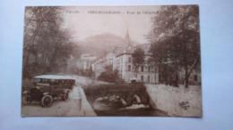 Carte Postale  ( AA5 ) Ancienne De Amelie Les Bains , Pont De L Hopital - Otros Municipios