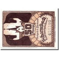 Billet, Allemagne, Scharmbeck Stadt, 50 Pfennig, Eglise, 1920, 1920-12-01, SPL - Andere