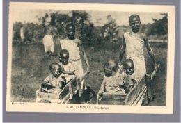 TANZANIA Zanzibar Recreation Ca 1920 Old Postcard - Tanzania