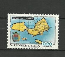 Venezuela ** Mnh 1971  ** Mnh  NUEVA ESPARTA - Venezuela