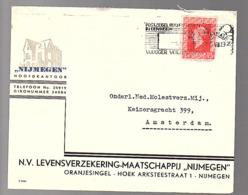 5.7.45 Nijmegen Lev. Verzek. Mij. Oranjesingel Hoek Arkeestraat  > Onderlinge Molestverzek. (oorlogsclaims)  (FJ-76) - Periode 1891-1948 (Wilhelmina)
