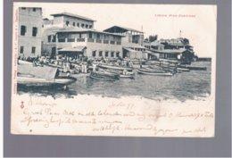 TANZANIA Zanzibar Londin Pier 1899 Old Postcard - Tanzania