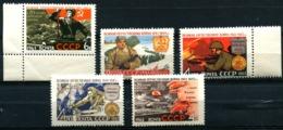 Russia 1963  Mi  2759-2761,2778-79  MNH ** - 1923-1991 USSR