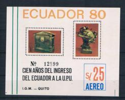 Ecuador 1980 Block 94 ** (oG) - Ecuador