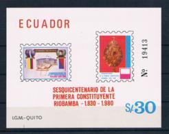 Ecuador 1980 Block 97 ** (oG) - Ecuador