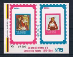 Ecuador 1980 Block 99 ** - Ecuador