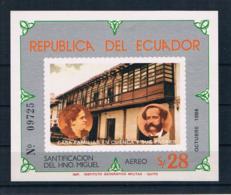 Ecuador 1984 Block 113 ** - Ecuador