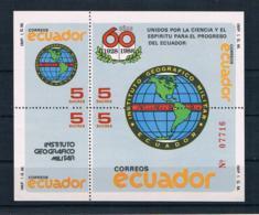 Ecuador 1988 Block 129 ** - Ecuador