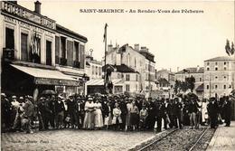 CPA St-MAURICE Au Rendez-vous Des Pecheurs. (509490) - Saint Maurice