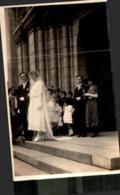 CARTE PHOTO MARIAGE A ANGERS , Photographe G . LOUBATIER ANGERS - Noces