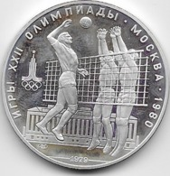 Russie - 10 Roubles - 1979 - Argent - SUP - Rusia