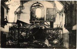 CPA Rongy - Souvenir De L'Église - Intérieur De L'Église Detruite (241506) - Autres Communes