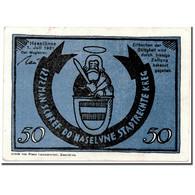 Billet, Allemagne, Haselünne, 50 Pfennig, Personnage, 1921, 1921-10-01, SPL - Andere