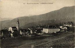 CPA Env. De GRENOBLE - St-MARTIN-d'URIAGE (241881) - Autres Communes