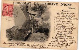 CPA Chocolat De L'Abbaye D'Igny (241890) - Autres Communes