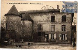CPA St-ÉTIENNE-de-St-GEOIRS - Maison Du Mandrin (241900) - Autres Communes