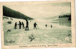 CPA Dauphiné - Le Plateau De St-NIZIER - Sports D'Hiver (241907) - Autres Communes