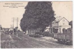 Ain - Pont-de-Vaux-Fleurville - La Gare, Cette Gare A été Ouverte à Exploitation Le 12 Juillet 1854 - Pont-de-Vaux