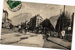 CPA GRENOBLE - Cours St-ANDRÉ Et Avenue De VIZILLE (243737) - Vizille