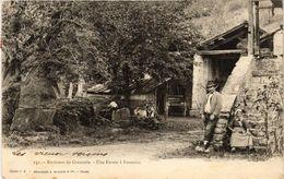 CPA Env. De GRENOBLE - Une Ferme A Fontaine (243948) - Autres Communes