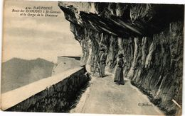 CPA Dauphiné Route Des Ecouges A St-GERVAIS Et La Gorge De La Dreveune (243956) - Autres Communes