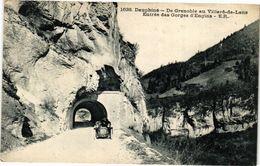 CPA Dauphiné-de-GRENOBLE Au VILLARD-de-LANS Entrée Des Gorges D'Engins (243957) - Autres Communes