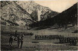 CPA Deitie De CHASSEurs Alpins Au Col De L'Echelle (243959) - Autres Communes