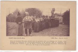 Ain - Pont-de-Vaux - Fête U Costume, Donnée Pour La Première Fois Au Château De Vernay - Pont-de-Vaux