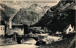 CPA Dauphiné - Vallée Du VÉNÉON - Le Village Des Etages Et Les Eorins (247055) - Autres Communes