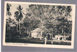 TANZANIA Kanone Gouvernement Palace Ca 1920 Old Postcard - Tanzania