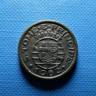 Portuguese S. Tomé E Príncipe 20 Centavos 1962 - Portugal
