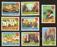 Zaire 1980 OCBn° 1017-1024 *** MNH Cote 4,00 Euro Leger Des Heils Armée Du Salut - Zaire